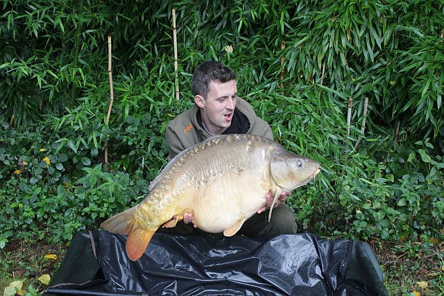 Sept: Steve Busby 41lb 9oz