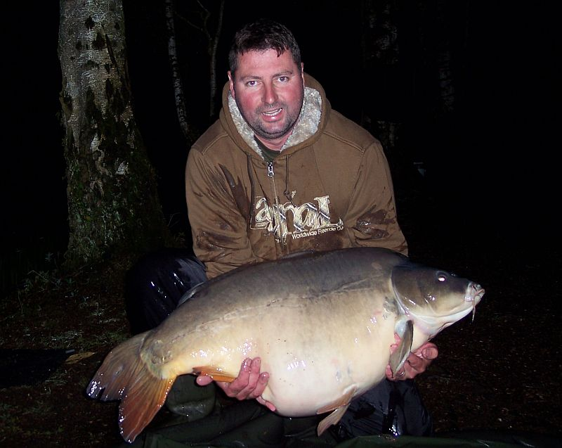 Dan 56LB 2oz PB & Lake Record