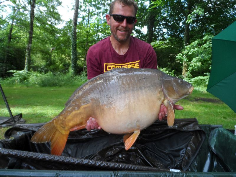 June: Lee 45lb 4oz  PB