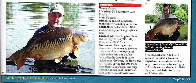 CarpTalk Aug 2014
