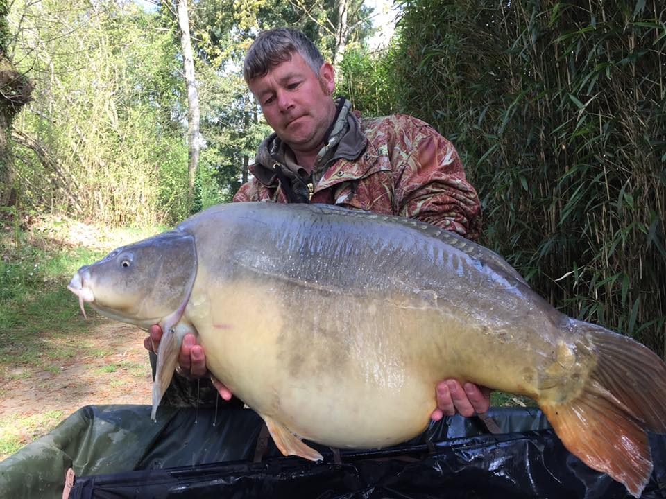 April: Matthew Morgan 61lb 8oz PB